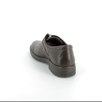 IMAC Madison Tex 40498-2843017 Brown waxy casual shoes
