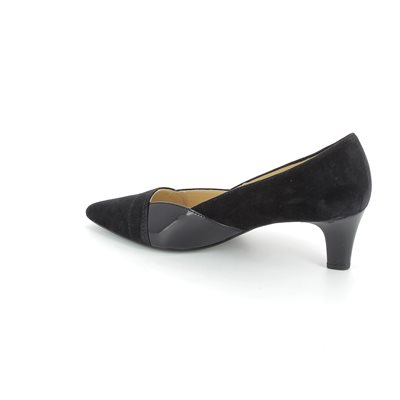Gabor Amberly 41.251.16 Navy patent/suede high-heeled s