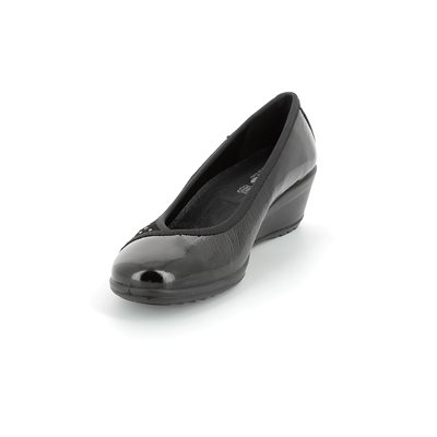 IMAC 51860-4200011 Black patent/suede heeled shoes