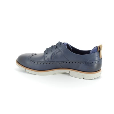 Clarks Trigen Limit Blue casual shoes