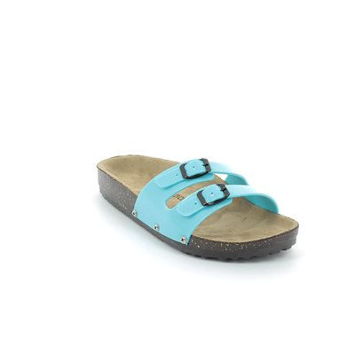 Heavenly Feet Sandy 61 5002-70 Turquoise sandals