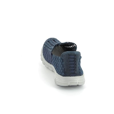 Heavenly Feet Stomp 5001-70 Navy trainers