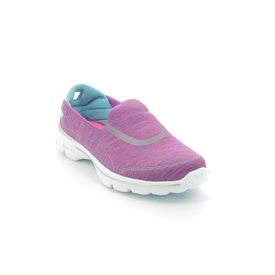 Skechers Go Walk 3 14038 PIN Pink trainers