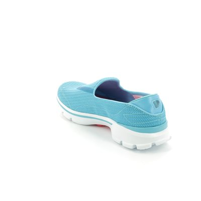 Skechers Go Walk 3 13980 TURQ Turquoise trainers
