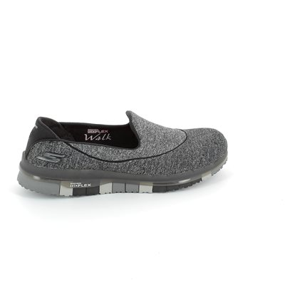Skechers Go Flex 14010 BBK Black trainers