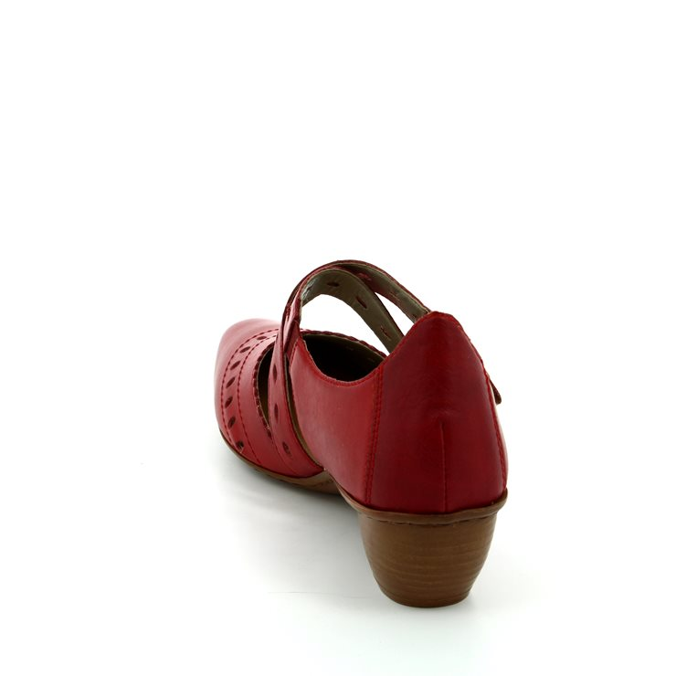 Rieker 43703-33 Red comfort shoes