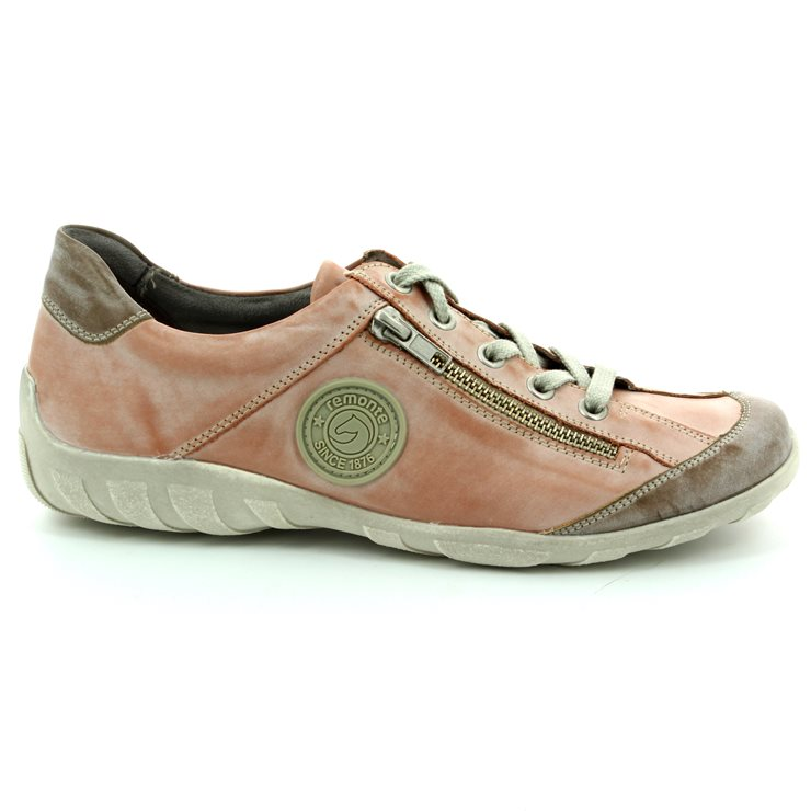 Remonte R3408-31 Pink lacing shoes