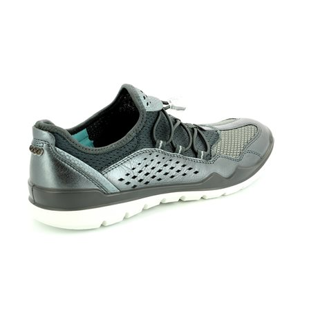 ECCO Lynx 830413-59528 Pewter trainers