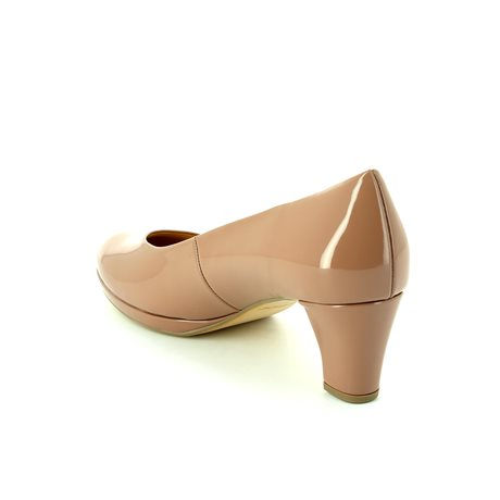 Gabor Figaro 41.260.94 Nude Patent high-heeled shoes