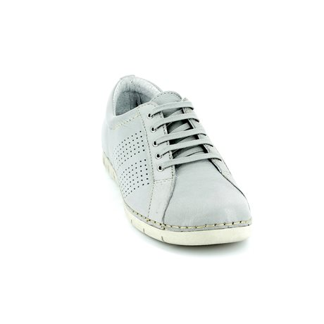 Relaxshoe 200109-00 Light Grey lacing shoes