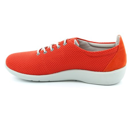 Clarks Sillian Tino Red trainers