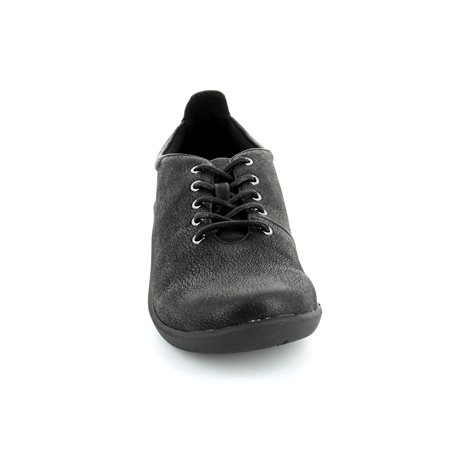 Clarks Sillian Tino Black trainers