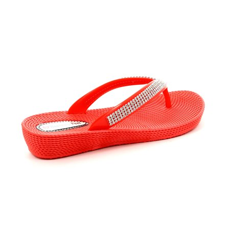 Heavenly Feet Martini 5003-80 Coral pink sandals