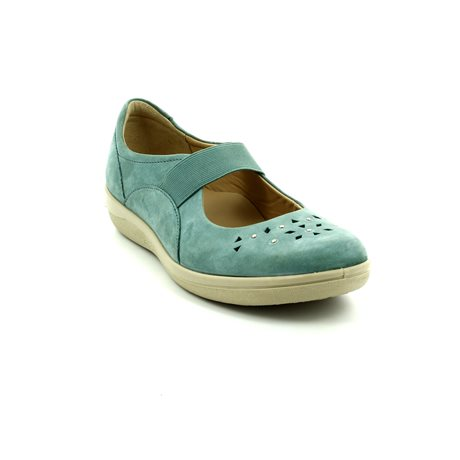 Padders Flare 229-62 Teal blue comfort shoes