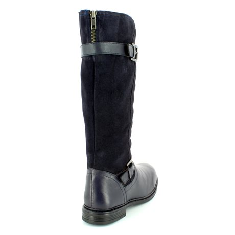 Heavenly Feet Chaser 6009-70 Navy long boots