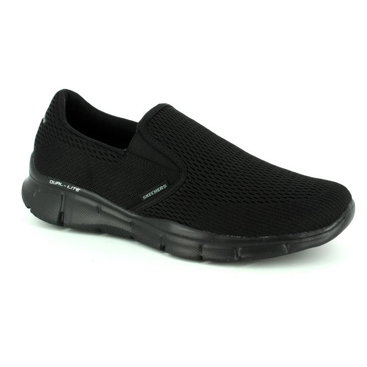 Skechers Double Play 51509 BBK Black trainers