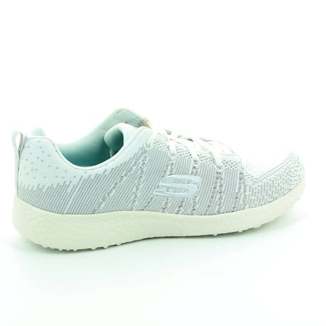 Skechers Burst Glimpse 12438 WSL White-Silver trainers