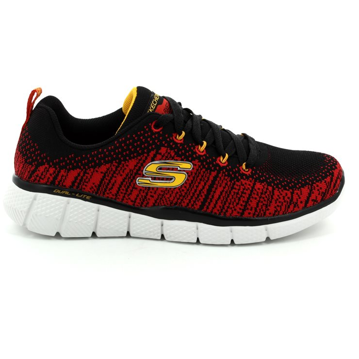 Skechers Perfect Game 97370 BKRD BKRD everyday shoes