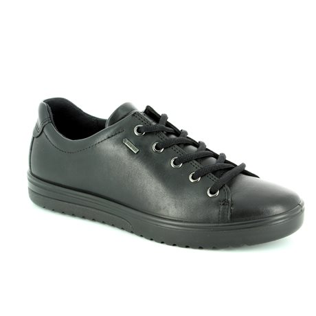 c842bc35f2b ECCO Lacing Shoes - Black - 235333/01001 FARA GORE-TEX ...