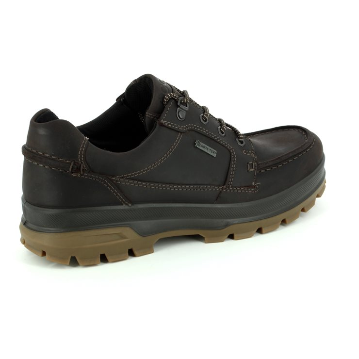 ECCO Rugged1944 Gore 838004-02178 Brown nubuck casual s