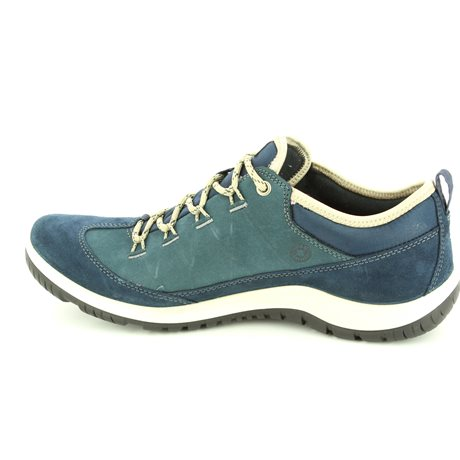 ECCO Aspina Gore 838523-50595 Blue lacing shoes