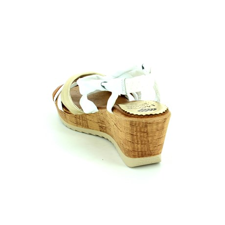 Marila Corcio 3533 737 35 -25 White multi sandals