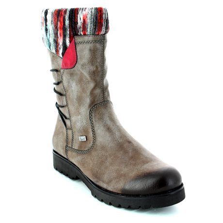 Rieker K0177-25 Light taupe multi boots