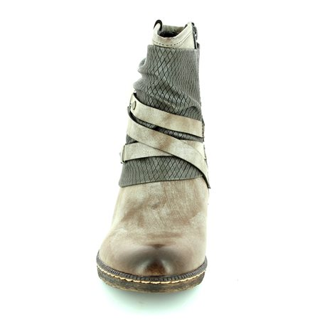 Rieker K1483-25 Taupe multi boots