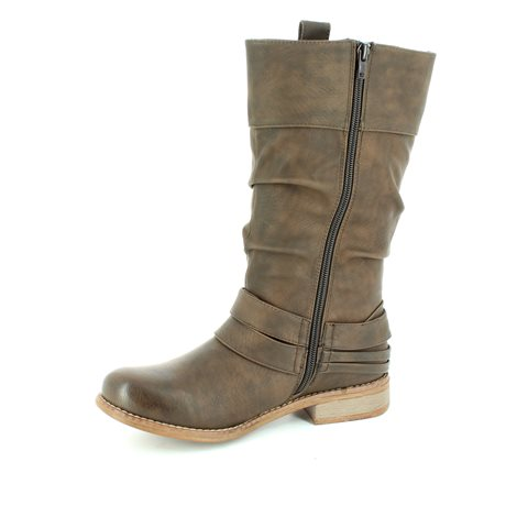 Rieker 95678-25 Tan long boots