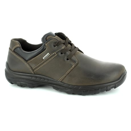 IMAC 61288-3503017 Brown waxy casual shoes
