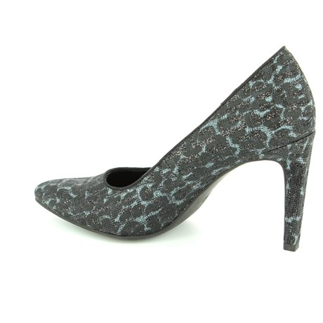 Marco Tozzi Metatos 22405-098 Black multi high-heeled s