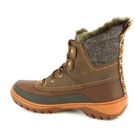 Merrell Sylva Mid Lace J02094 Brown multi ankle boots