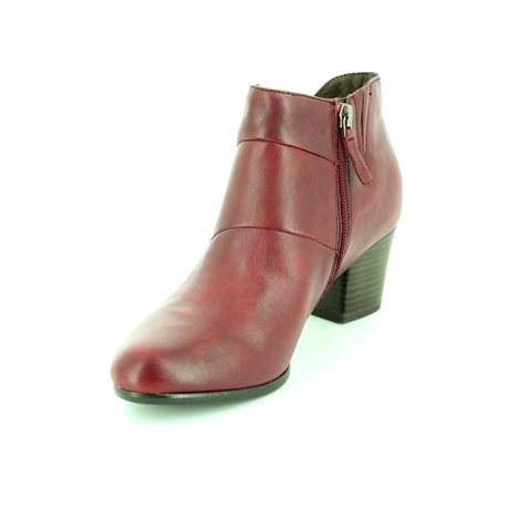Tamaris 25016-537 Wine ankle boots