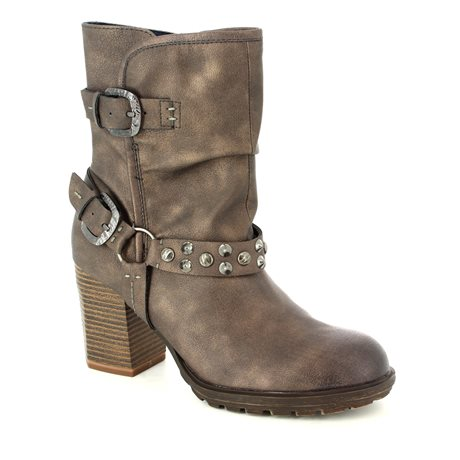 Tamaris 25464-329 Brown multi ankle boots