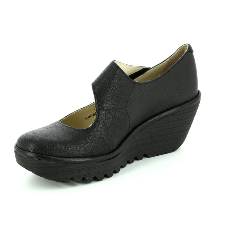 Fly London Yasi 682 P500682-000 Black comfort shoes