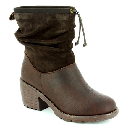 9b00a8384a EMU Australia Ankle Boots - Brown - W11138/20 COOMA ...