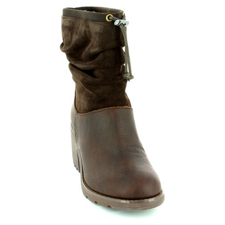 EMU Australia Cooma W11138-20 Brown ankle boots