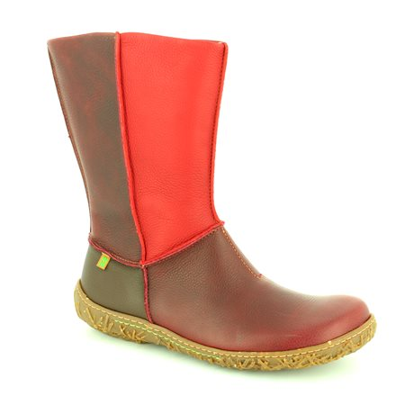 02178cb2d69ea El Naturalista Ankle Boots - Wine multi - N796 90 NIDO ELLA N796 ...