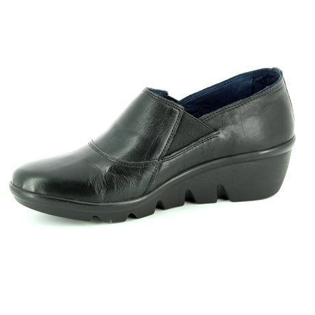 Walk in the City Yawn 1111-37160 Black comfort shoes