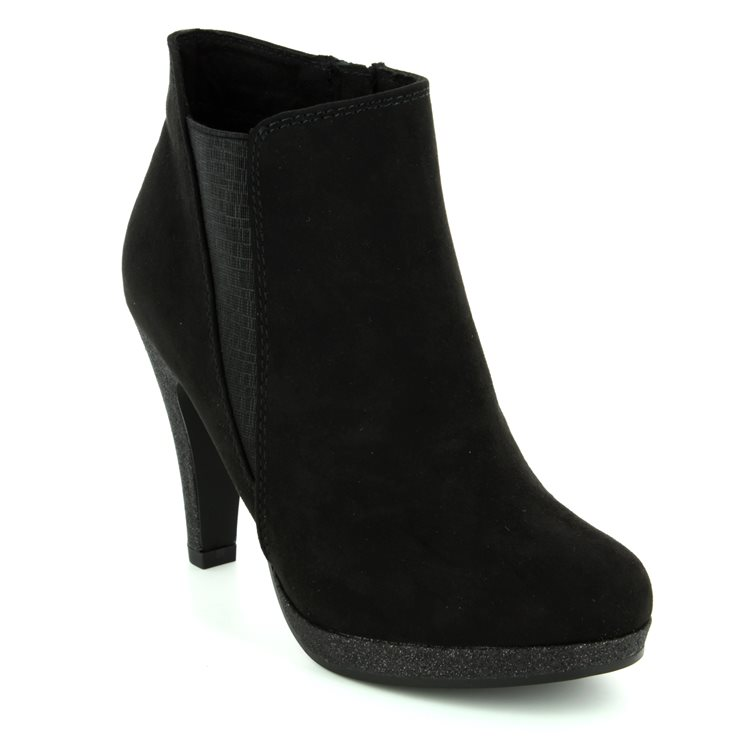 Marco Tozzi Taggispaboot 25363-098 Black ankle boots