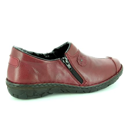 Relaxshoe 026770-80 Wine comfort shoes