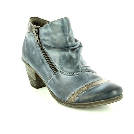 Remonte Dorndorf D8770-14 Blue ankle boots
