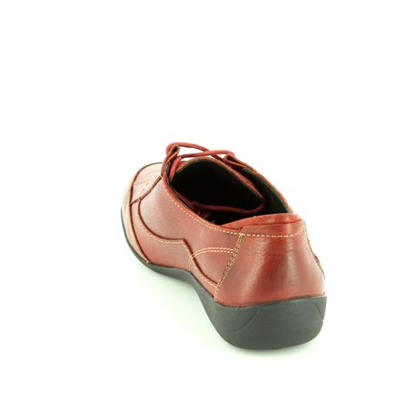 Padders Glade Ee Fit 050-12 Wine lacing shoes