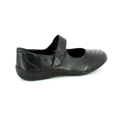 Padders Dwell Ee Fit 052-38 Black comfort shoes