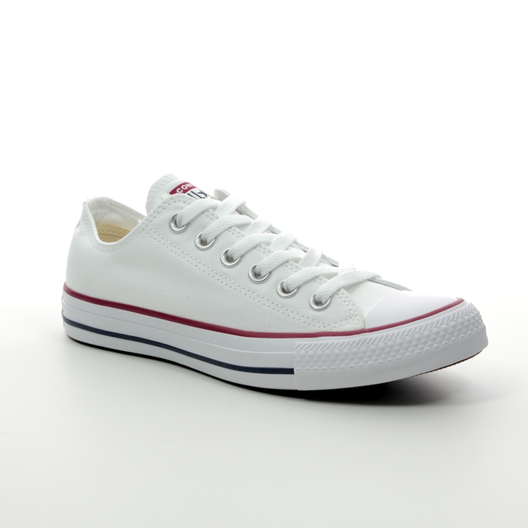 OX OPTICAL WHITE TRAINERS White M7652C Converse Unisex CONVERSE ALL STAR