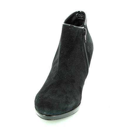 Gabor Danehill 56.670.47 Black suede ankle boots