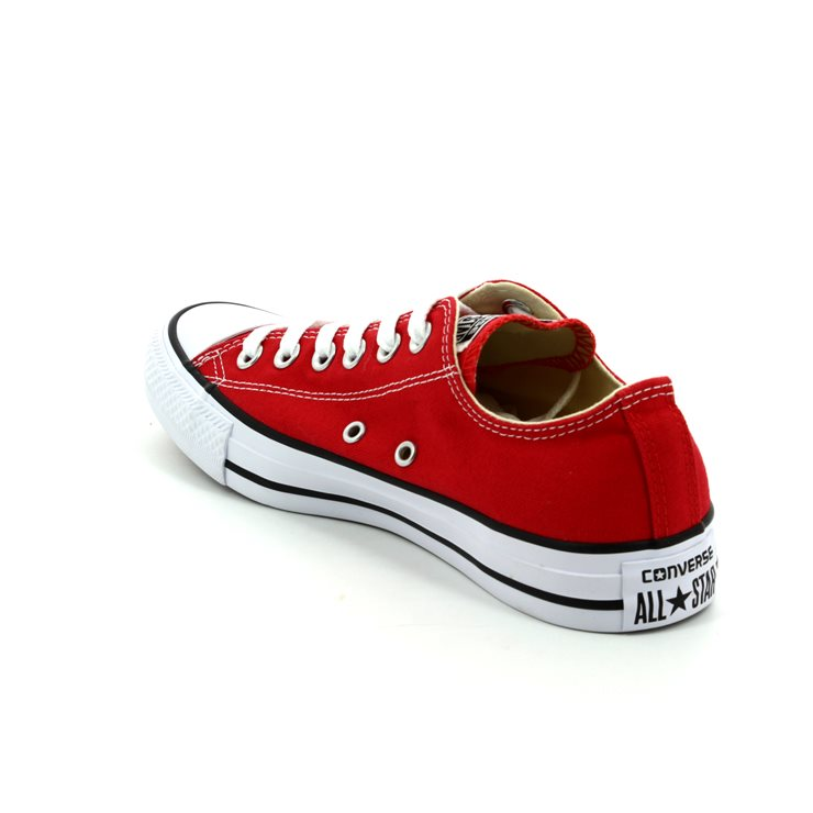 Converse CT All Star Kids Classic Ox Canvas Trainers | Red