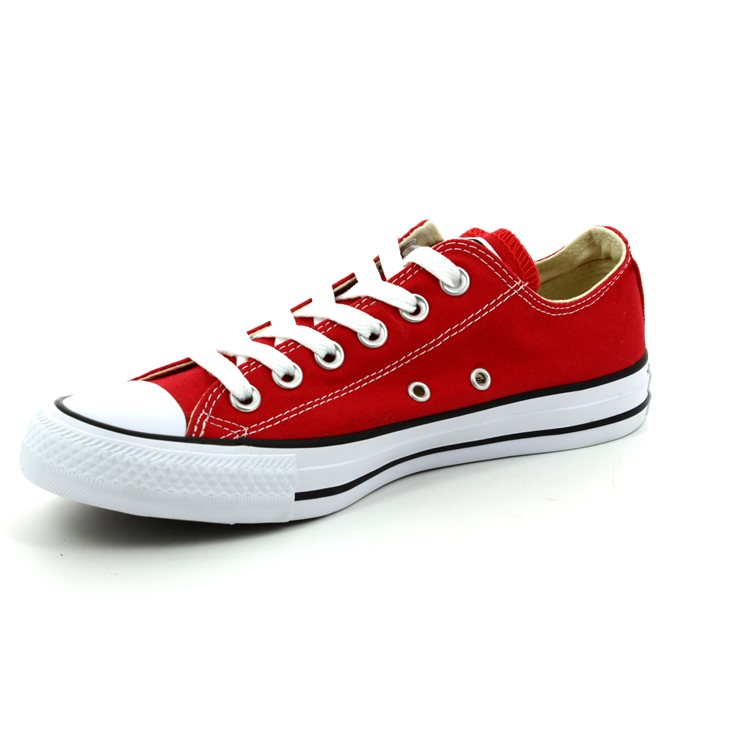 Converse M9696C All Star OX Classic Red canvas trainers