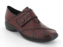 Rieker Everyday Shoes - Wine - L3885-35 DORDISVEL