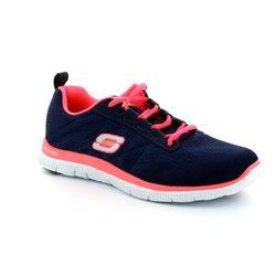 Skechers Trainers & Canvas - Navy - 11729/97 FLEX APPEAL MF 11729